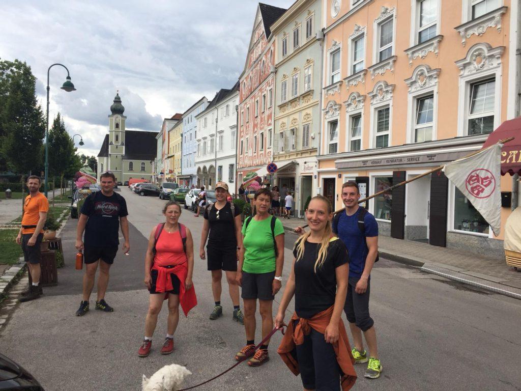 Ziel erreicht: Aschach an der Donau